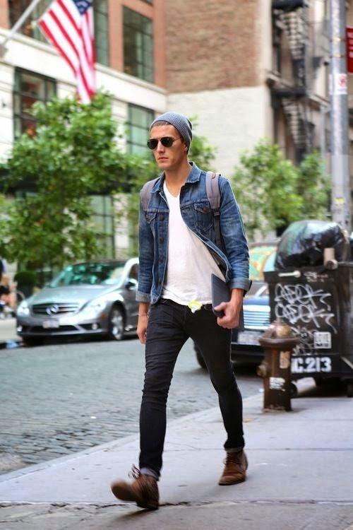 Pin By Andrea On Men S Apparel Mens Fashion Denim Jacket Men Men