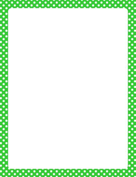 Printable turquoise polka dot border Free GIF, JPG, PDF, and PNG - free page border templates for microsoft word