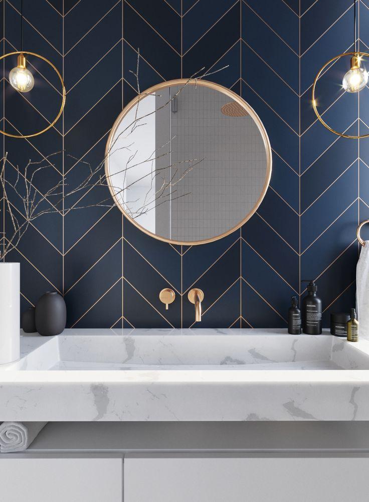 Urządzamy łazienkę w kolorze roku 2020 - Classic Blue