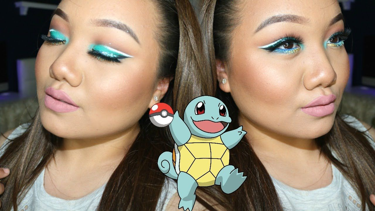SQUIRTLE Pokèmon GO Makeup Series MEI Makeup, Pokemon