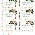 free printable wedding favor tags