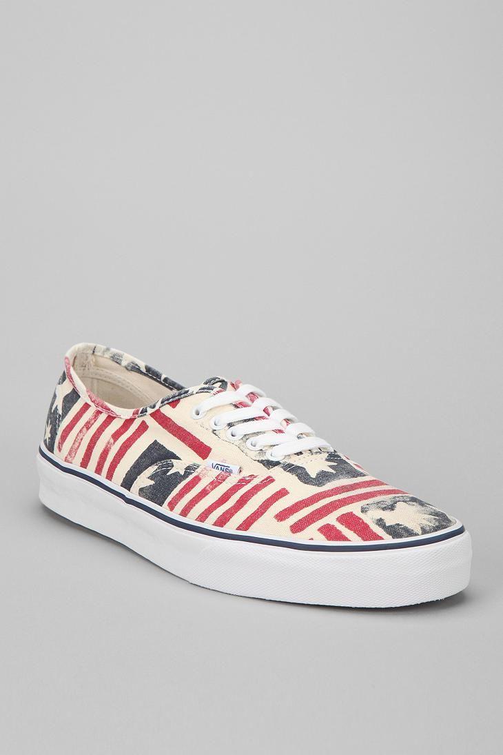 Vans Van Doren Flag Authentic Sneaker #urbanoutfitters