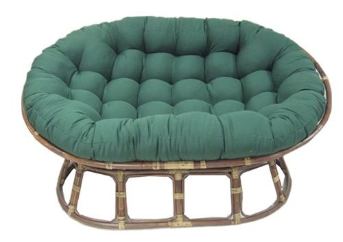A Double Papasan Chair Aka Mamasan Papasan Chair Cushion