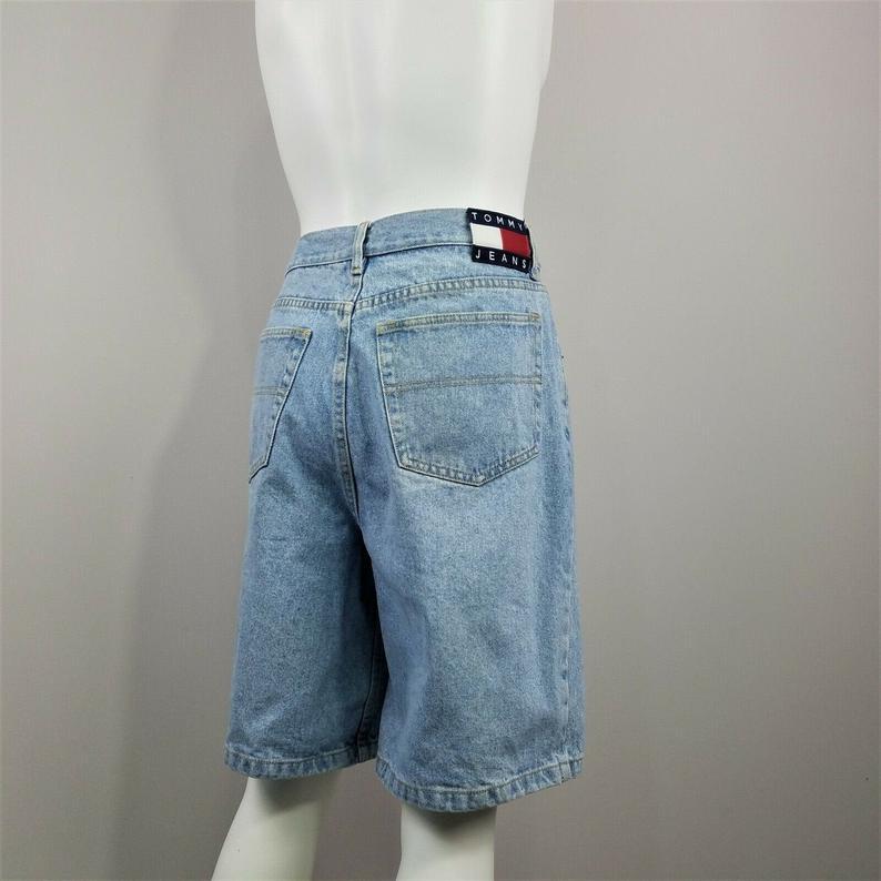 90s Tommy Short Denim Pants