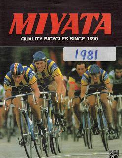 Miyata Bicycle Catalogs: Miyata Catalog 1981 | Bicycle Race