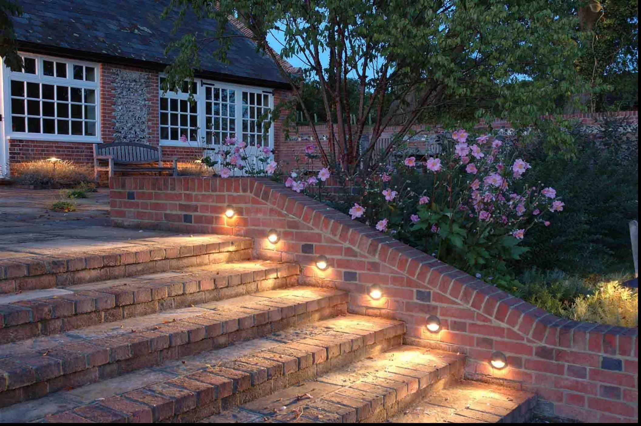 Outdoor lighting under stairs critical facts wall lights plus outdoor lighting under stairs critical facts wall lights plus garden ideas images brick tagged with aloadofball Image collections
