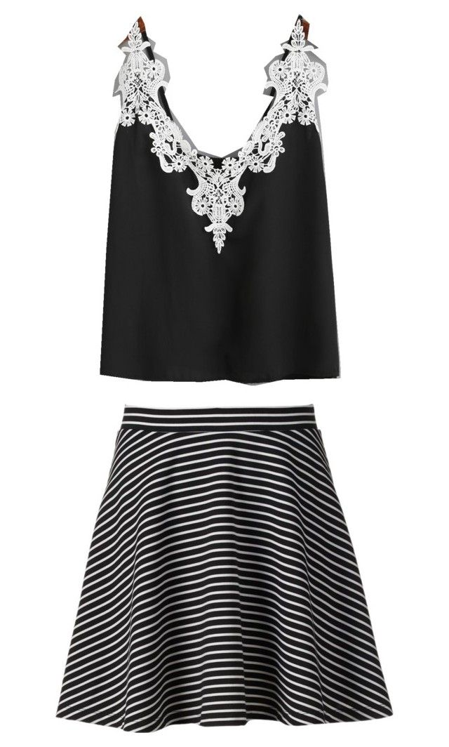 """""""Sans titre #7"""" by clembignaux on Polyvore featuring mode, Apt. 9 et WithChic"""