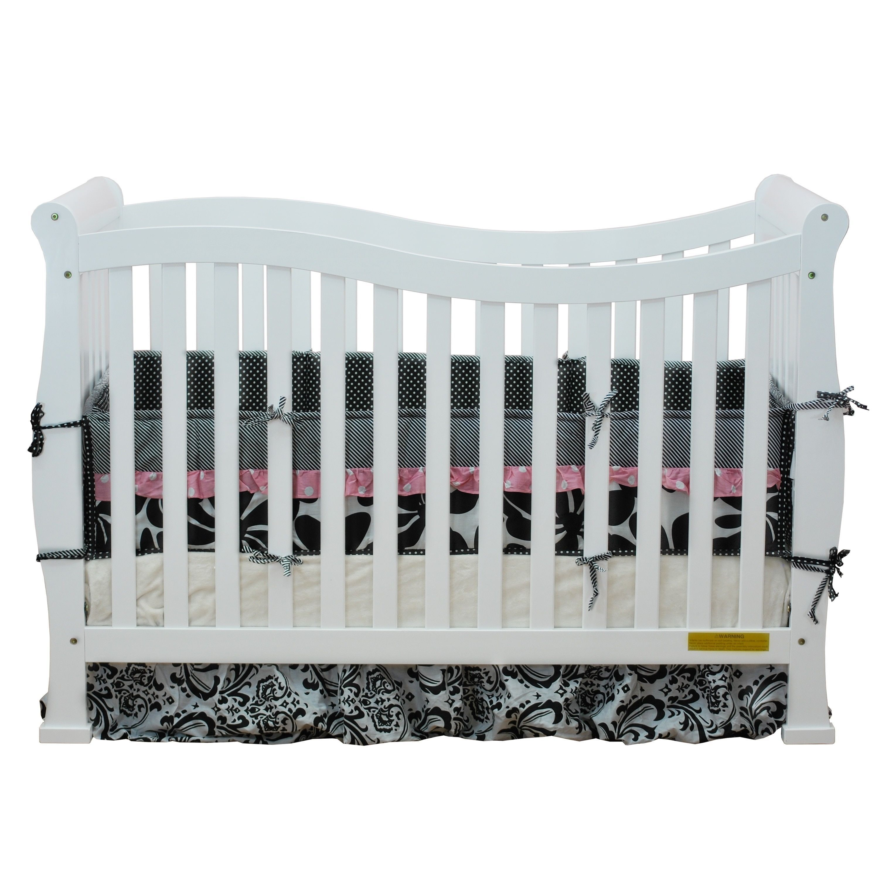 AFG Baby Furniture Mikaila Zoe 3-in-1 Convertible Crib | Best Baby ...