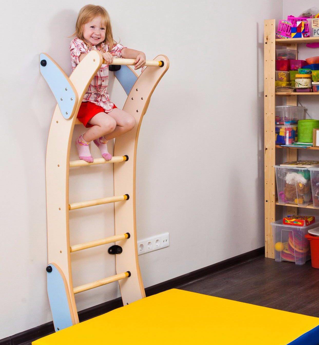 Kids Playground Ladder Set, Indoor Climbing Sport Wall Gym