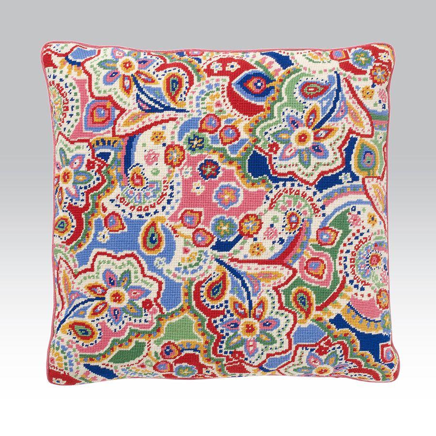 Alexa Ehrman Tapestry Fabric Bags Needlepoint Designs Pillows Kits