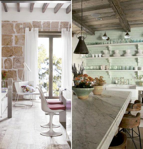 C mo conseguir una cocina r stica cocinas de estilo - Cocinas estilo rustico ...