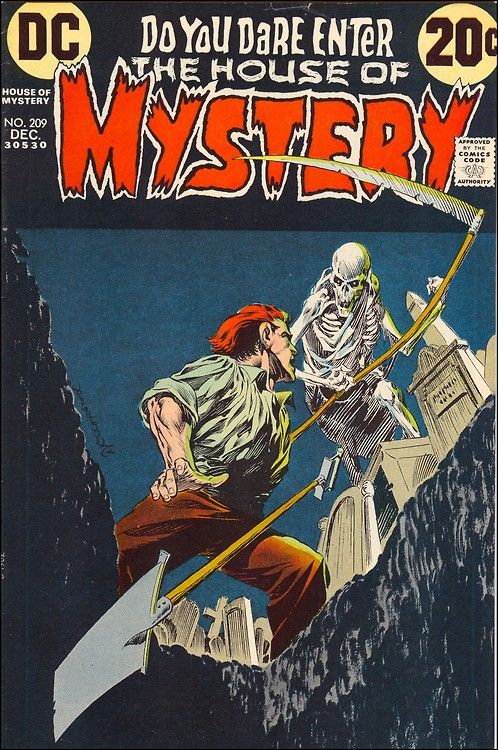House of Mystery #209, 1972. Cover art by Bernie Wrightson.