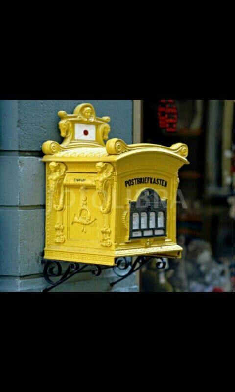 Alemania Letter box, Antique mailbox, Vintage mailbox
