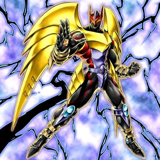Elemental Hero Dark Neos: Héroe Elemental Darkbright