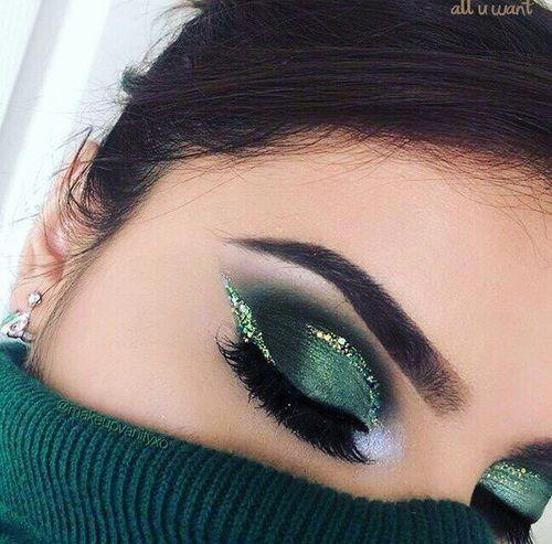 Photo of wie man grünen Lidschatten trägt! – Spitze