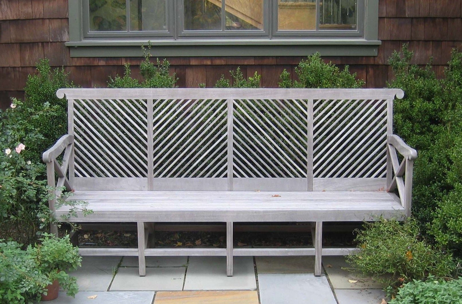The Almodington bench by MUNDER SKILES Garden Furniture Company  based in  Garrison New York  is made of FSC certified chain of custody raw teak fro. Munder Skiles Bench   Exterior Furniture   Benches   Pinterest