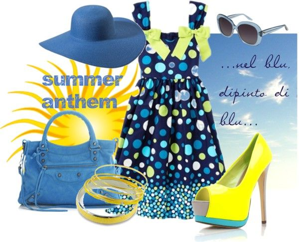 "#socialoutfit #futurosemplice ""Summer anthem by rosagiuffre"" by rosagiuffre on Polyvore"