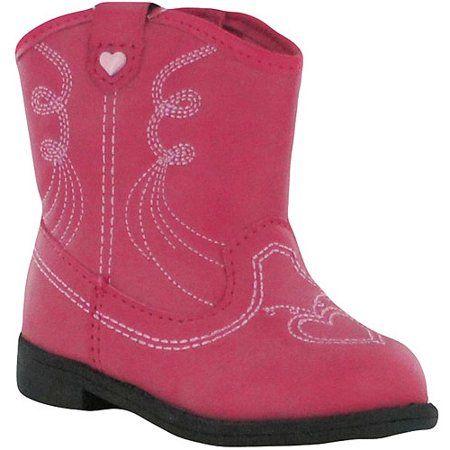 Gt Ht Boot Cowboy 14, Pink | Girls