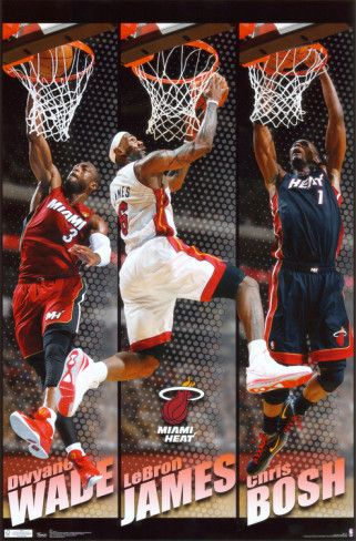 Heat - Team 2011. Poster from AllPosters.com, $9.99
