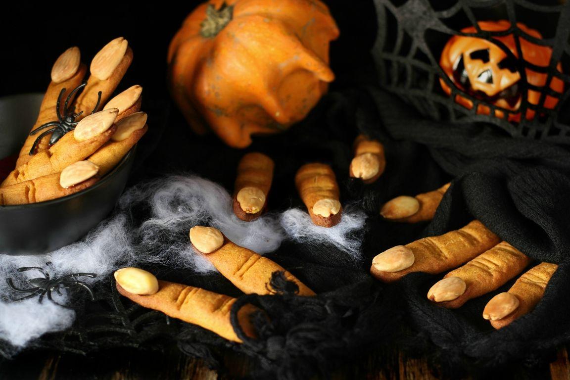 Biscotti dita di strega!