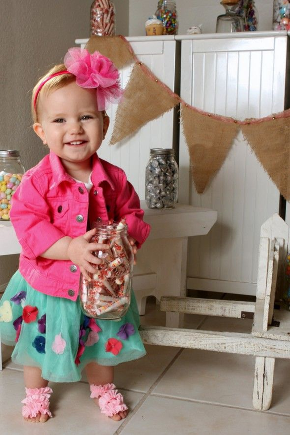 Precious and Colorful First Birthday Celebration Photo Shoot by J Lyn Photography   Two Bright Lights