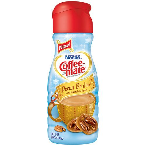 Nestle Coffee Mate Pecan Praline Liquid Coffee Creamer One Of My