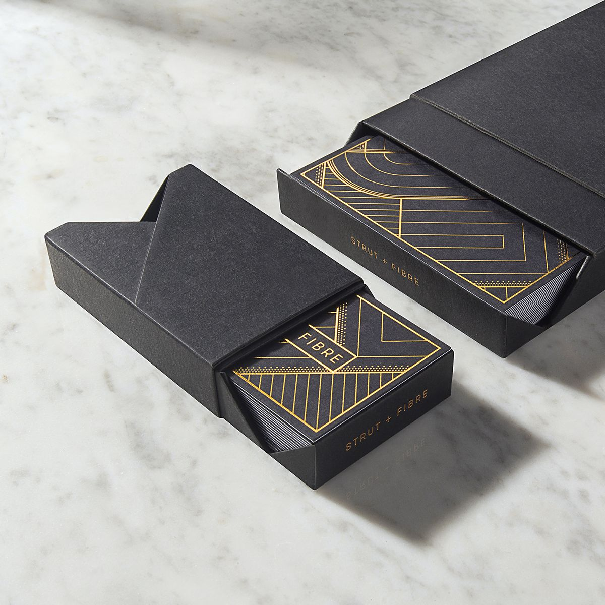 Bespoke Strut and Fibre presentation boxes for your business cards ...