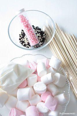 Suklaamarenki: Vaahtokarkkipuput