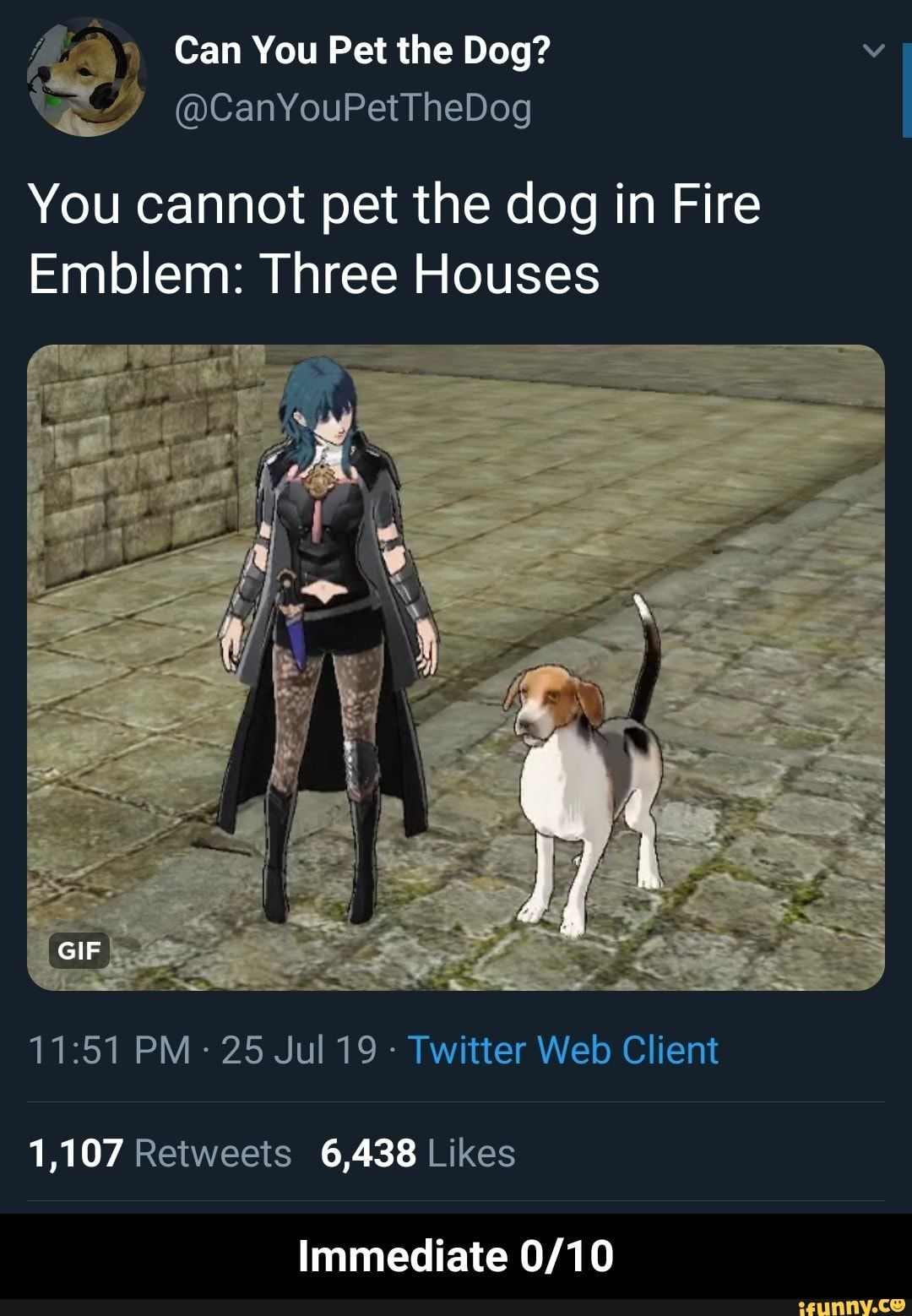 You Cannot Pet The Dog In Fire Emblem Three Houses 11 51 Pm 25