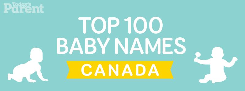 Top 100 Baby Names in Canada | Baby - names | Top 100 baby names