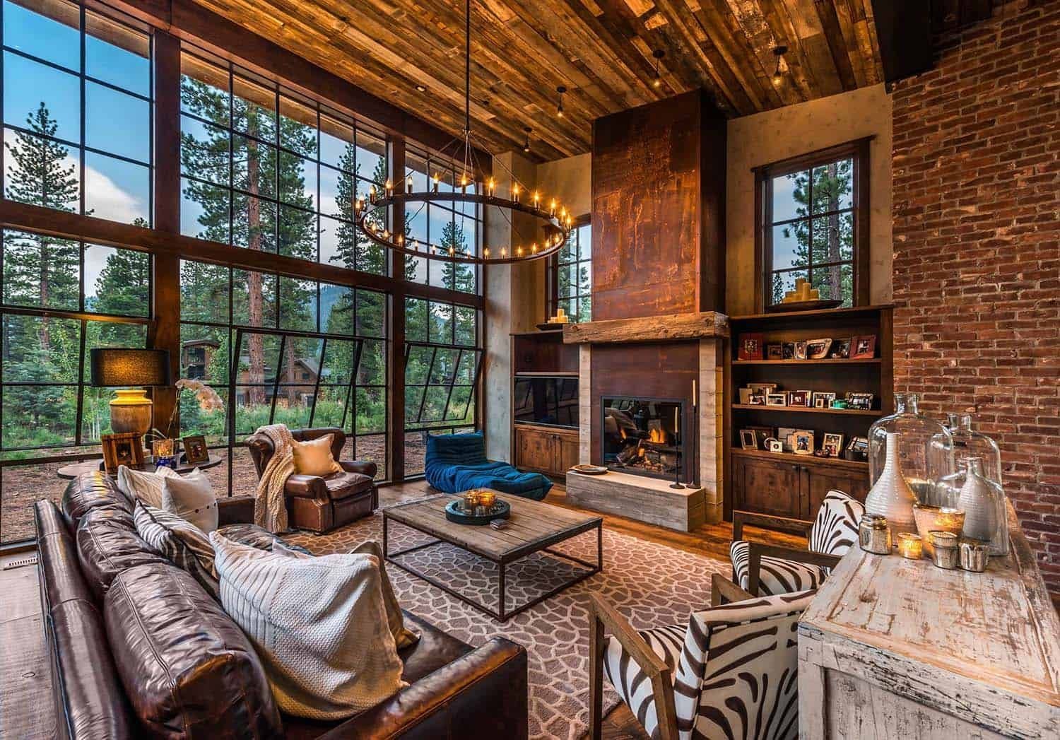 Gorgeous rustic wooded retreat with indoor-outdoor living ... on Retreat Outdoor Living id=78416