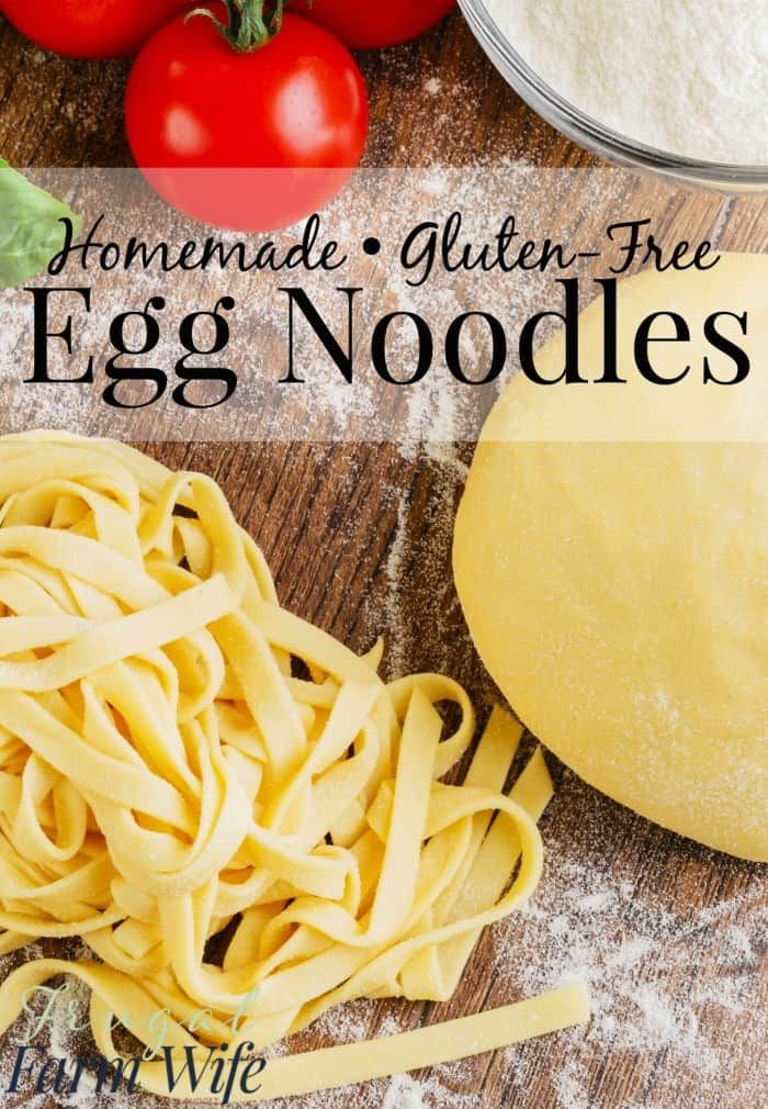 Photo of Gluten-Free Egg Noodles | The Frugal Farm Wife
