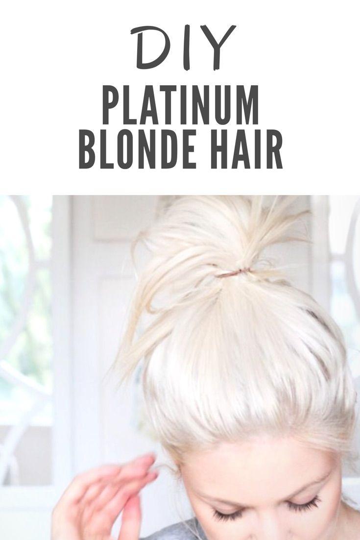 platinum blonde hair diy guide