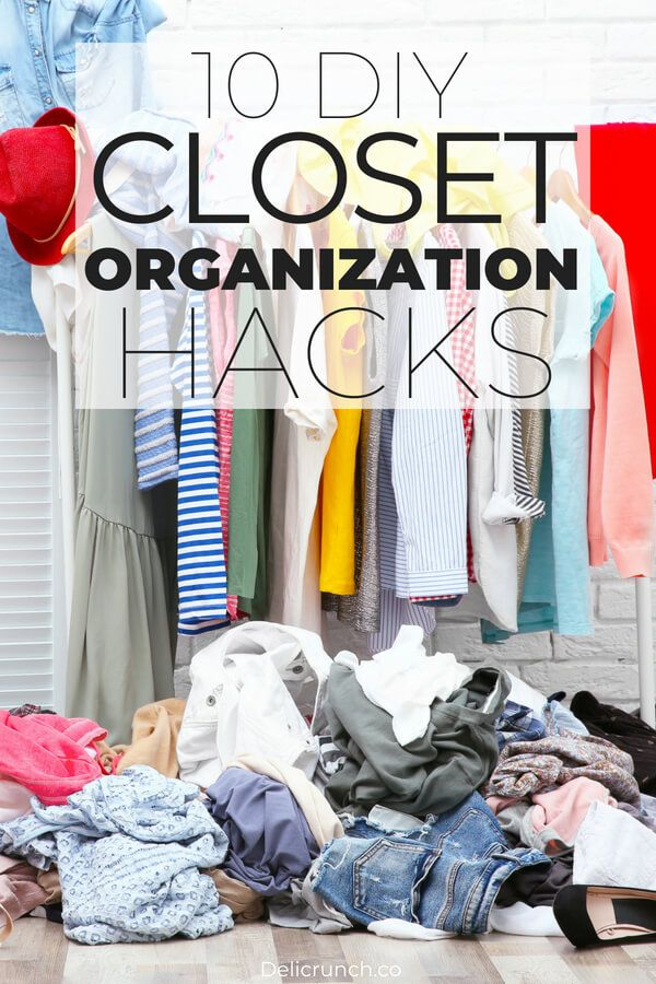 10 Clever DIY Closet Organization Ideas on a Budget You've