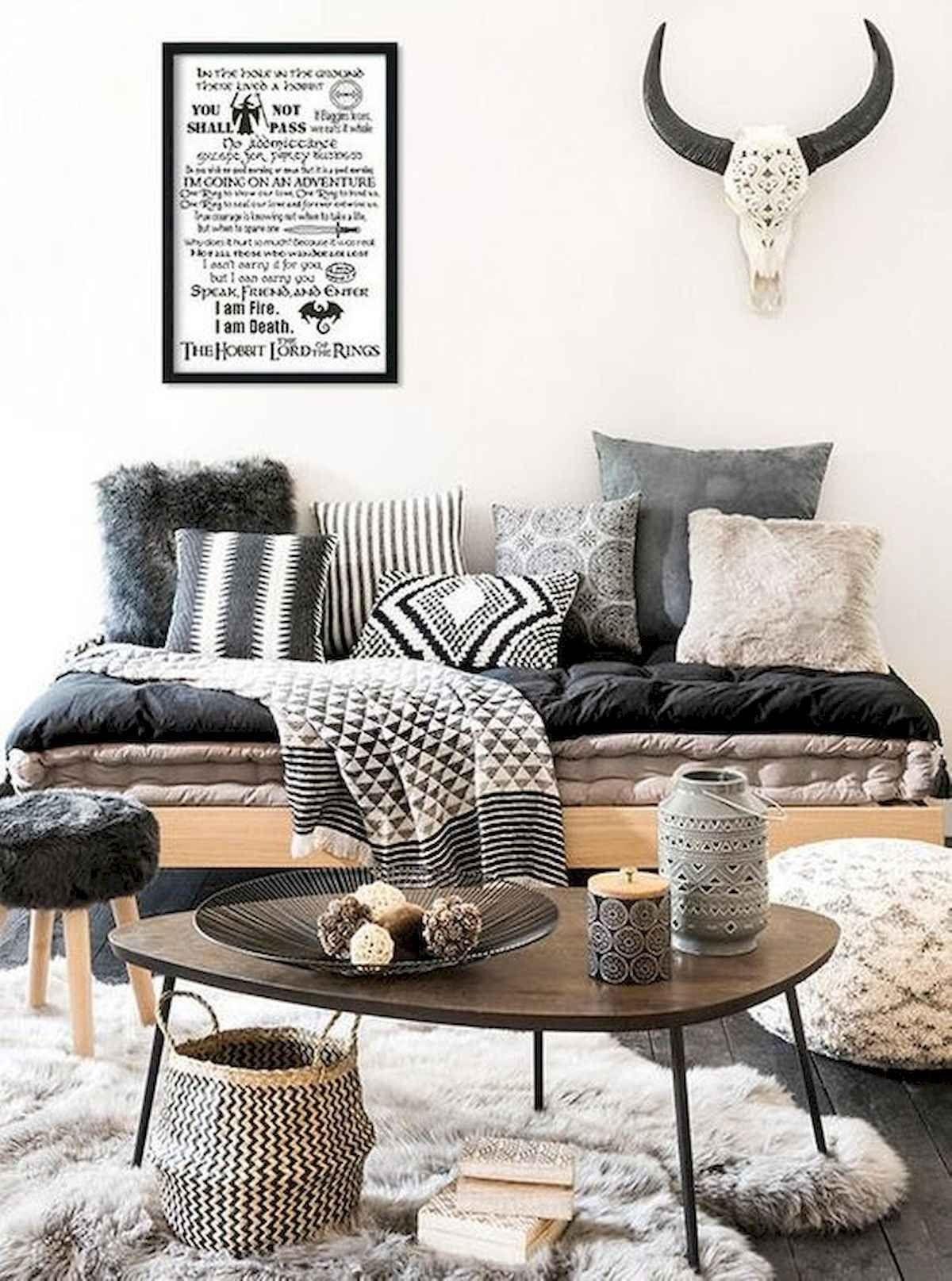 70 Stunning Grey White Black Living Room Decor Ideas And Remodel In 2020 Black Living Room Decor Chic Living Room Hygge Living Room #white #and #black #living #room #decor #ideas