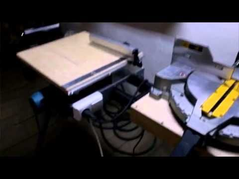 Установка дверей - циркулярка 5704R в стол - YouTube