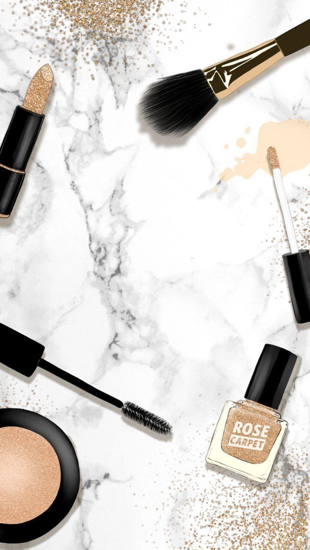 Pin de A. em خلفيات | Makeup wallpapers, Makeup backgrounds e Makeup illustration