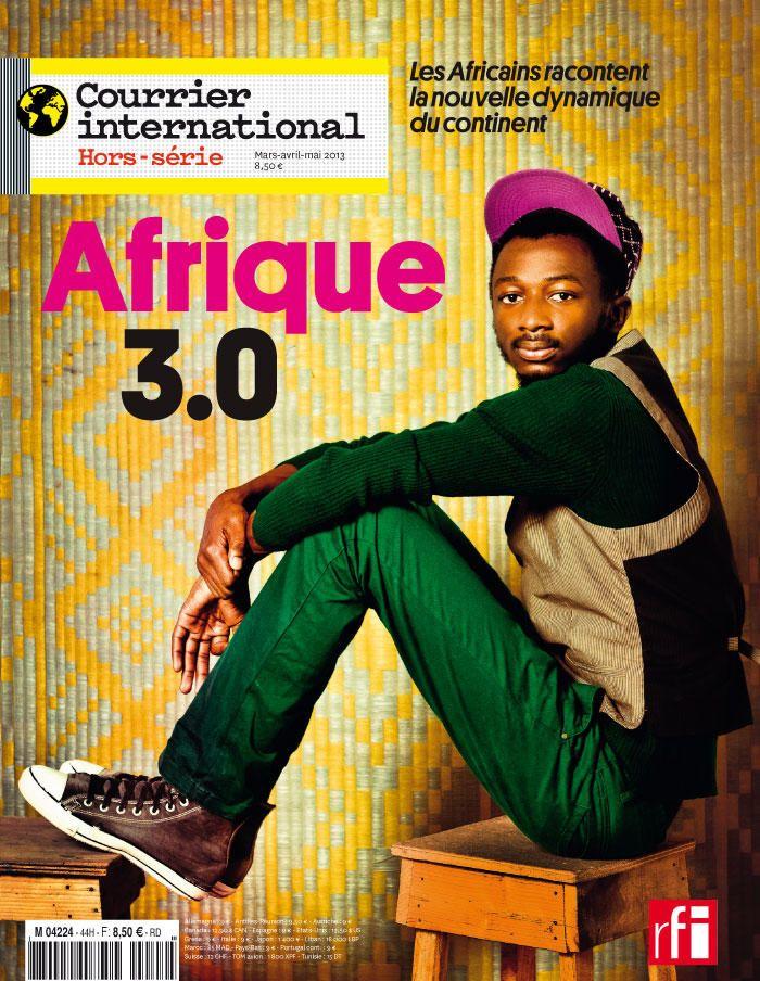 Le titre de une. Horssérie n° 20132 Afrique 3.0