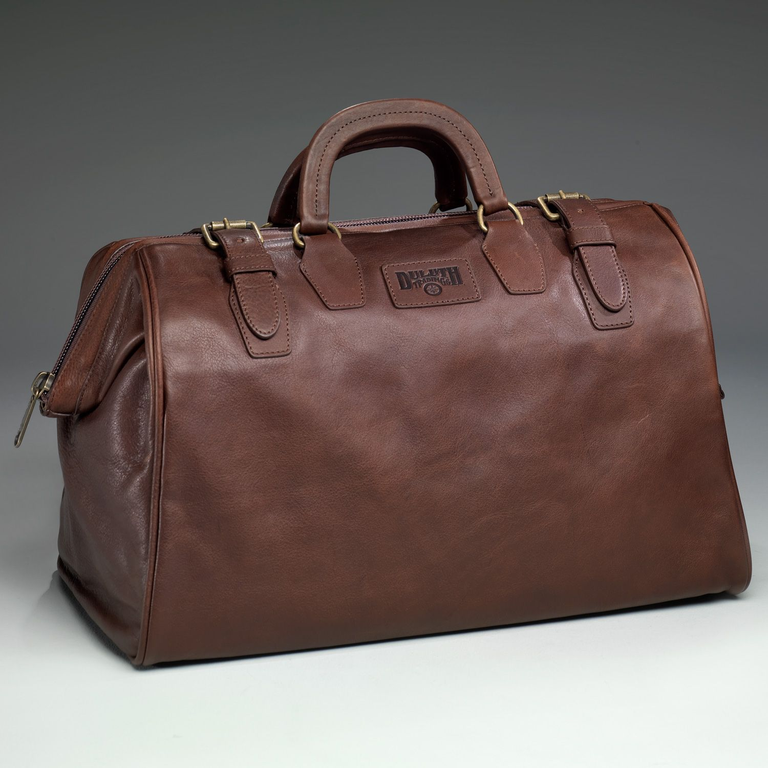 c4e156b1d0abb The Leather AWOL Bag is like the one your Dad carried when the Army shipped  him overseas in 1943.