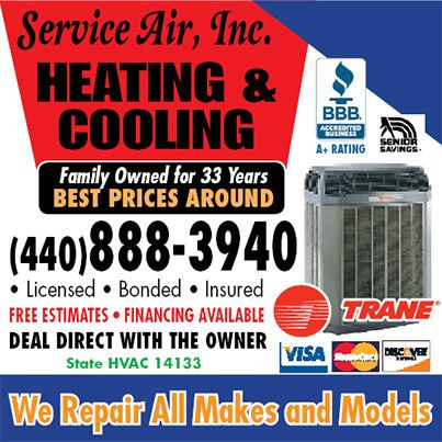 Clip Money Saving Coupons From Service Air Inc Heating Cooling