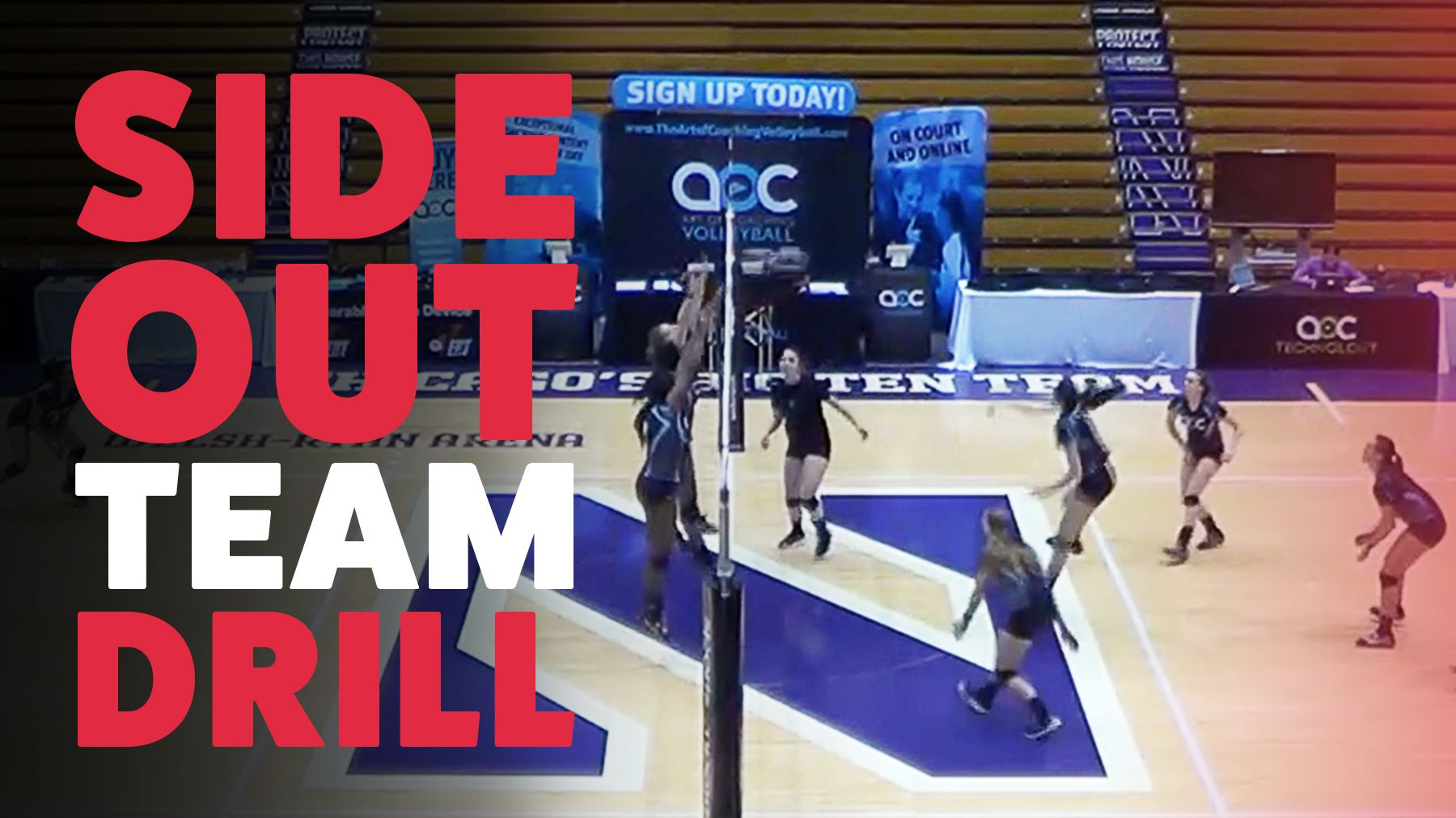 Sideout Team Drill With Kevin Hambly The Art Of Coaching Volleyball Coaching Volleyball Drill Volleyball Drills