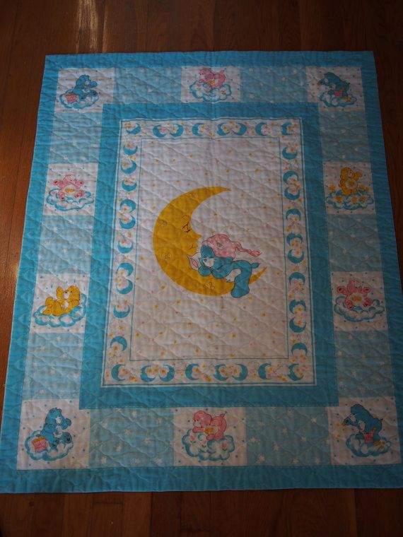 Care Bears Baby Bedtime Bear Quilt Baby Bedtime Care