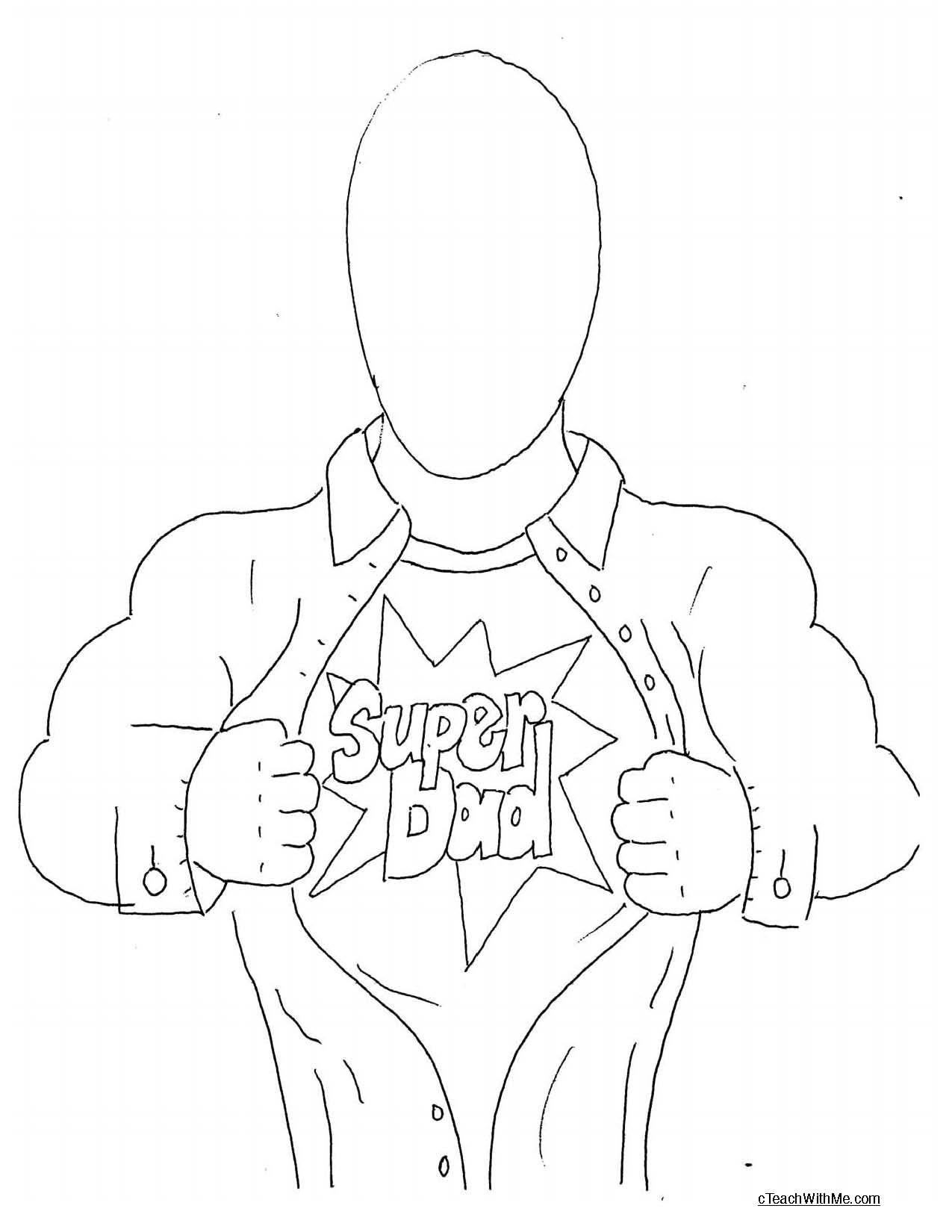 Father S Day Superhero Activities
