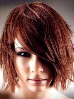 Medium Hairstyle Choppy Haircutschoppy Hairstylesmedium Hairstyleschin Length