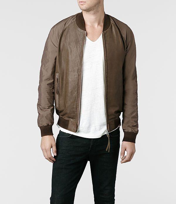 bae76cdf5 AllSaints Nash Bomber Jacket | Mens Bomber Jackets | My style ...