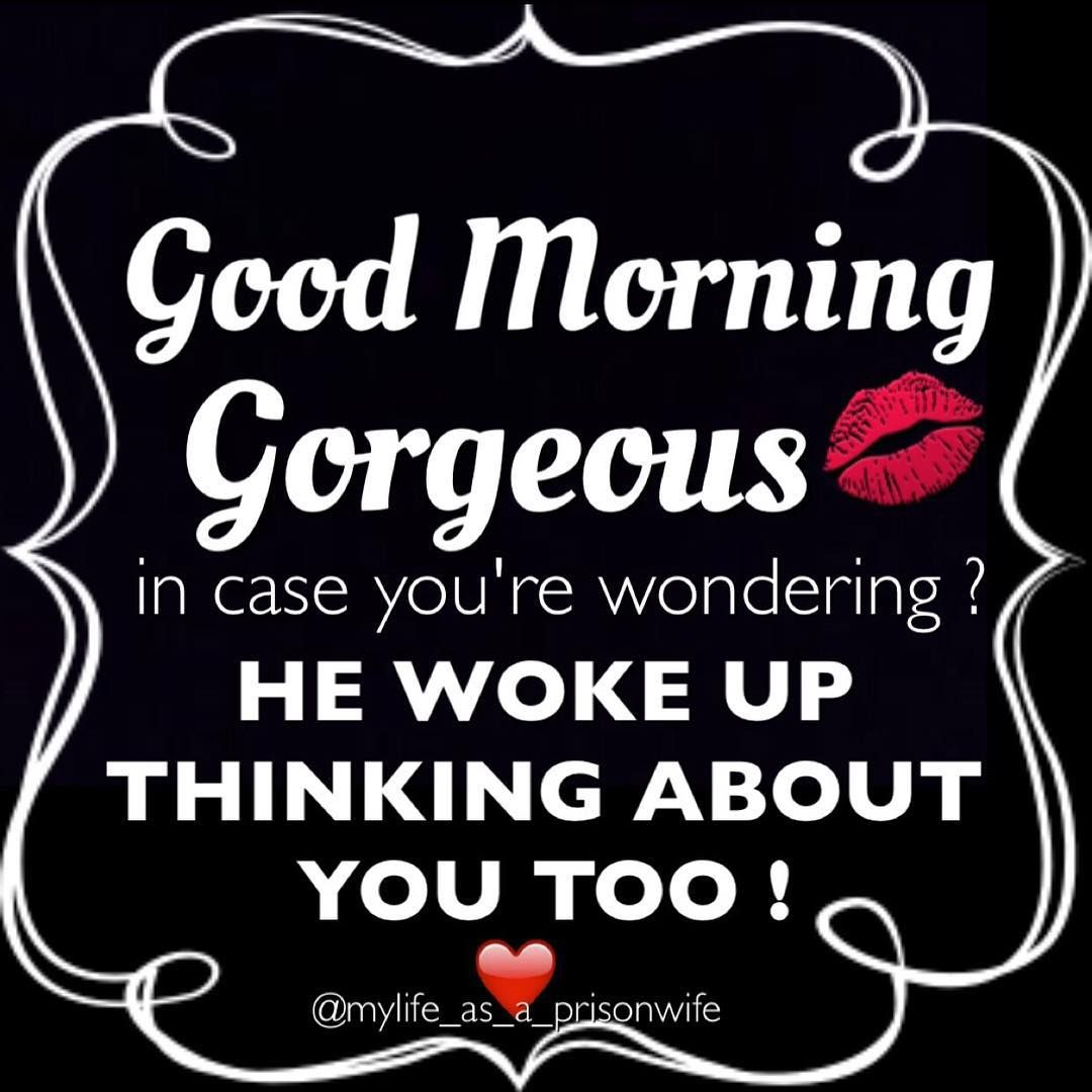Prisonwife On Instagram Good Morning Prisonwives And Girlfriends Sometimes When You Wake Up And He S Right There Prison Wife Inmate Love Prison Quotes