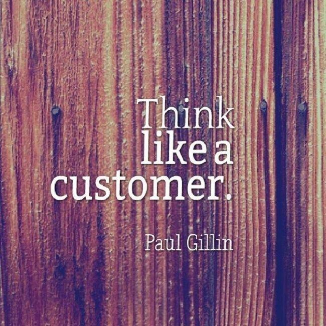 Be simple…think like a customer