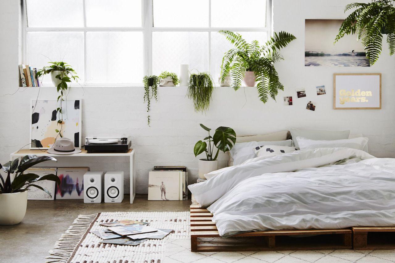 Cama bed pallet palet cabecero diy handmade bedroom u