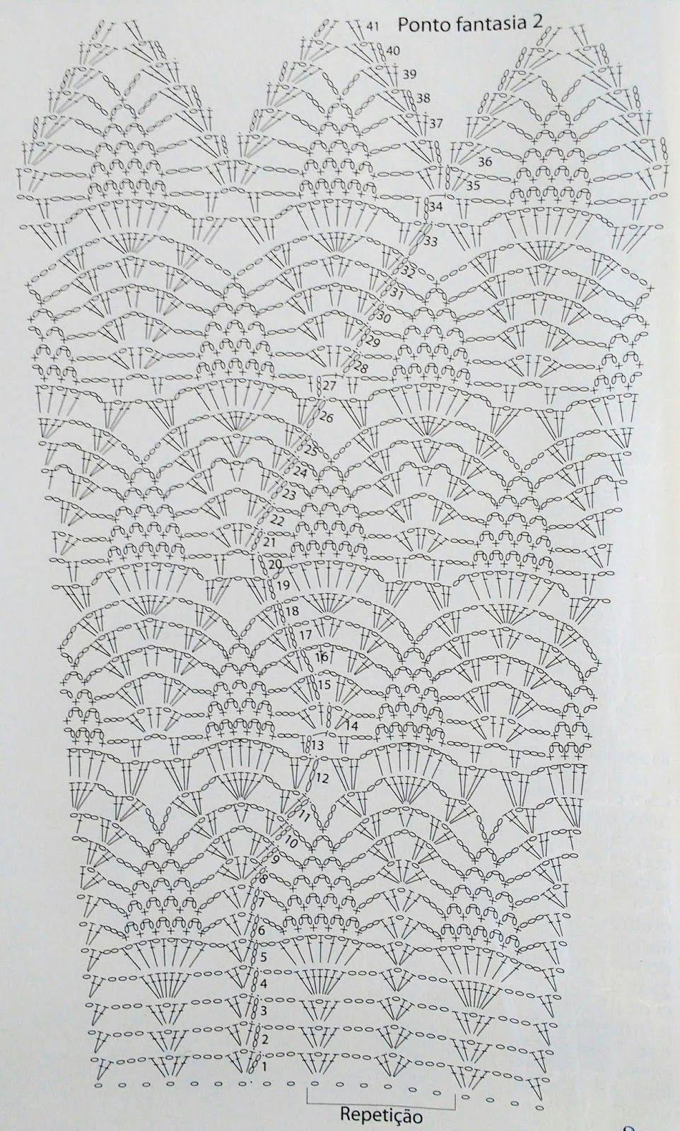 MANGA+ABACAXI.jpg 962×1.600 pixels | Crochê & Agulhas (crochet and ...