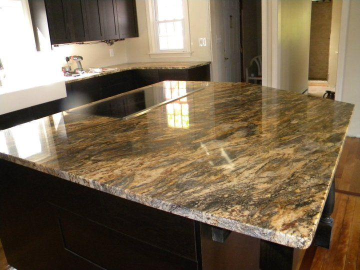 Kitchen Counter Tops. Kitchen Design With Dark Brown Cabinets ...